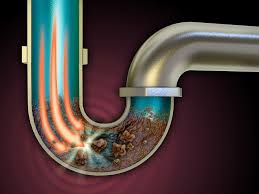 Clogged Up Pipe